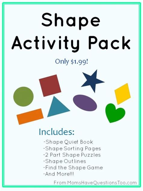 shape activities for toddlers 747 | Shape Activity Pack promo 1 499x665