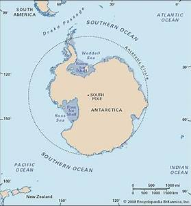 Southern Ocean | Location, Map, Depth, & Facts ...