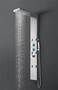 Duschpaneel Mit Massagedüsen : led dusch paneel lp089 edelstahl duschs ule brause dusche sedal thermostat ebay ~ Eleganceandgraceweddings.com Haus und Dekorationen