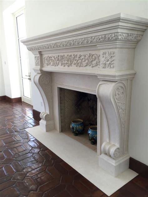 custom italian tuscan stone fireplace mantels bt