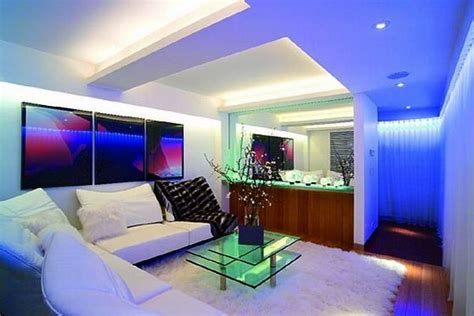 Led Light Room Decor by Led Light Living Room Future House Ideas
