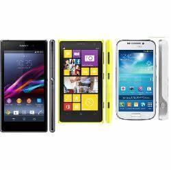 Sony Xperia Z1 vs Nokia Lumia 1020 vs Samsung Galaxy S4 ...