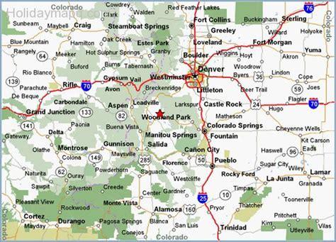 map  colorado holidaymapqcom