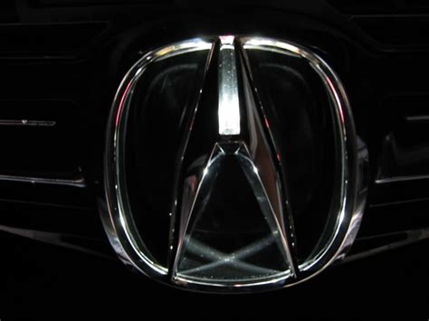 Acura Emblem Wallpaper by The Rear Acura Emblem W Leds Acurazine Acura