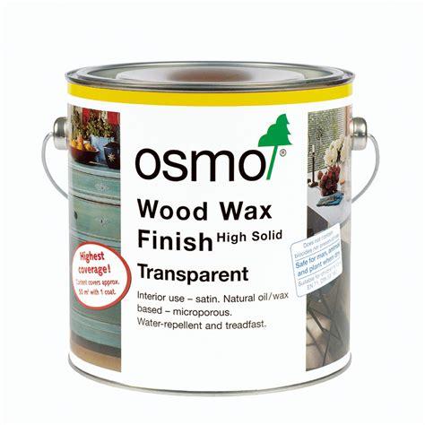 wood wax osmo wood wax finish transparent