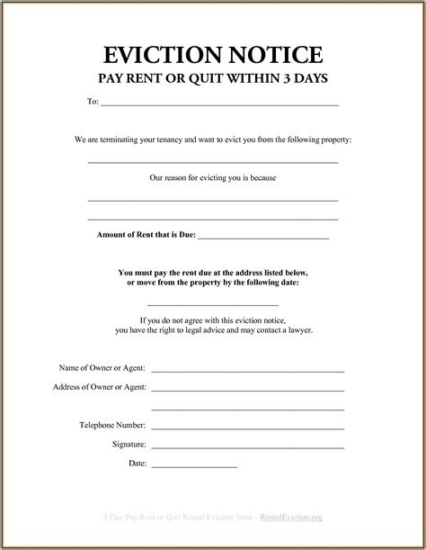 Eviction Notice Template Section 21 Eviction Notice Template Free Template