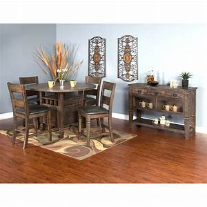 sunny designs homestead 1013tl round counter height table With homestead furniture and appliances