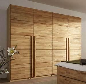 Kleiderschrank 140 Hoch : kleiderschrank aus massivholz schlafzimmer design ~ Indierocktalk.com Haus und Dekorationen