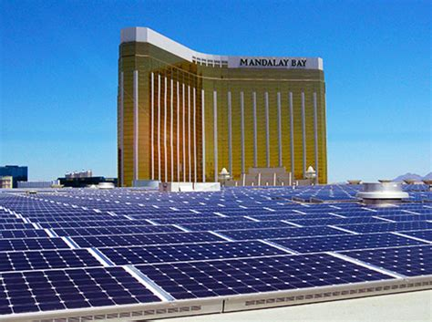 mgm installs americas largest rooftop solar array
