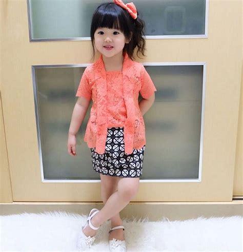 6 model baju kebaya untuk anak kecil paling modis gebeet com