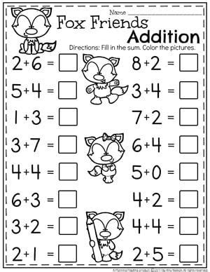addition worksheets planning playtime math addition