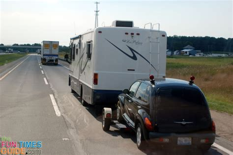 motorhome towing guide cars that can be towed with 4 wheels times guide to rving