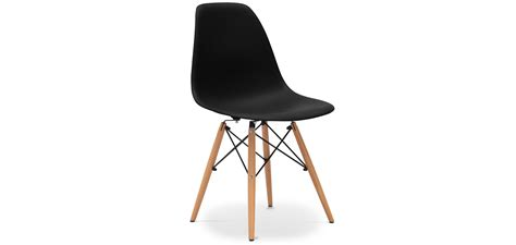 chaise style eames chaise dsw charles eames style polypropylène matt pas cher