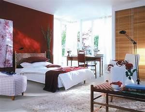 Schöner Wohnen Farbe Schlafzimmer : sinnliches rot f rs schlafzimmer bild 17 sch ner wohnen ~ Bigdaddyawards.com Haus und Dekorationen