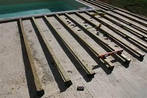 Lambourde Pour Terrasse Bois : prix de la structure guide construction terrasse bois ~ Premium-room.com Idées de Décoration