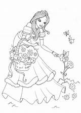 Princess Coloring Pages Activity Printable Disney Child Forget Supplies Don sketch template