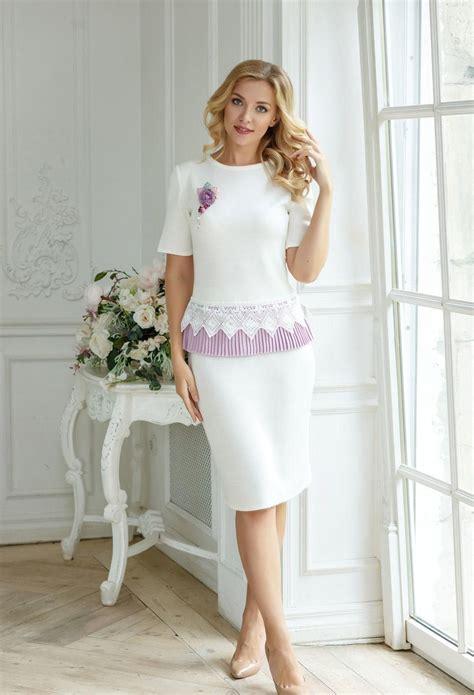 Feminine business skirt set suit French lavender | Etsy in ...