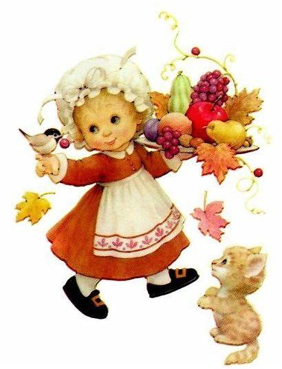 Thanksgiving Morehead Ruth Clip Printable Moments Precious