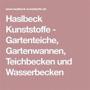 Pool Wanne Kunststoff : haslbeck kunststoffe gartenteiche gartenwannen teichbecken und wasserbecken gartenteich ~ Watch28wear.com Haus und Dekorationen