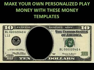 play money personalized templates With custom fake money template