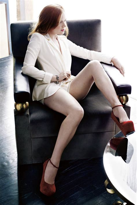 amy adams shows  cleavage legs  marie claire