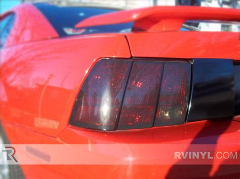 2004 mustang tail lights rtint ford mustang 1999 2004 tail light tint film