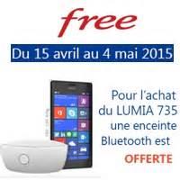 Achat Telephone Free : bon plan free mobile une enceinte bluetooth offerte pour l achat du nokia lumia 735 ~ Teatrodelosmanantiales.com Idées de Décoration