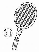 Tennis Racket Tennisracket Coloring Kleurplaat Tenis Colorear Raqueta Leukekleurplaten Dibujosparaimprimir Kleurplaten Tennisbal 1001coloring Bate Pong Ping Windsurfing Kolorowanki Kleur Total sketch template