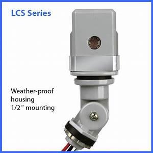 Lumatrol Low Voltage Stem Mount Photocontrols