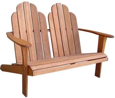 loveseat plans just try it useful adirondack loveseat plans