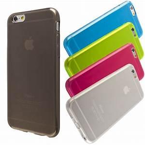 Coque Iphone 6 : coque silicone translucide iphone 6 6s ~ Teatrodelosmanantiales.com Idées de Décoration