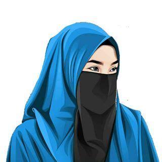 kumpulan wallpaper kartun hijab muslimah keren