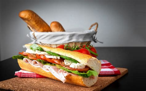baguette cuisine sandwich baguette wallpapers and images wallpapers