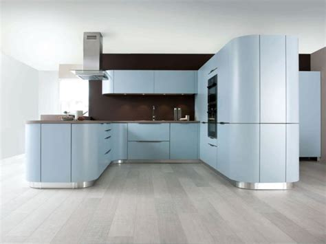 pose cuisine schmidt une cuisine bleue maisonapart