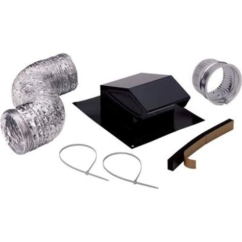 bathroom exhaust fan installation instructions broan roof vent kit rvk1a the home