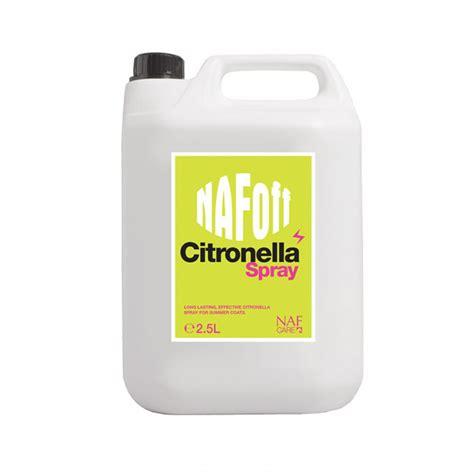 Citronella L 5l naf citronella fly repellent 2 5l e things