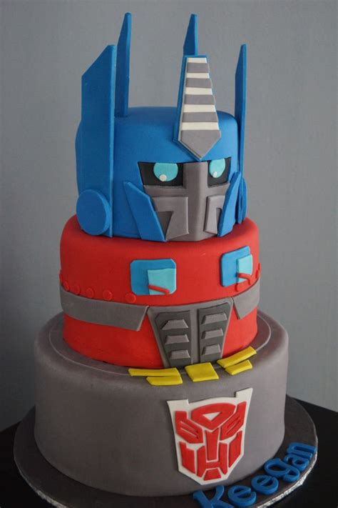 Transformer Cake  Cakes  Pinterest  4th Bday Party