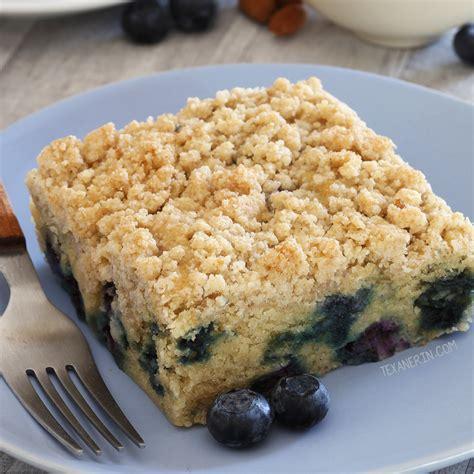 blueberry coffee cake gluten  vegan  wheat