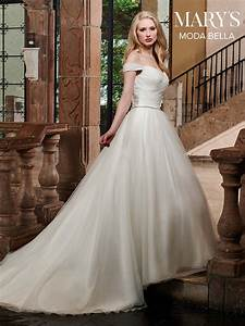 Bridal Dresses Style Mb2028 In Ivory Or White Color