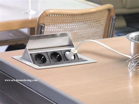 prise escamotable cuisine franke evoline prise electrique escamotable fliptop 012074