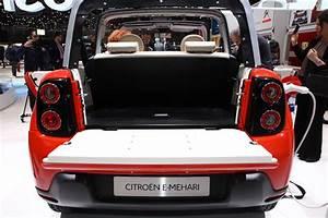 Citroen Mehari 2016 : citro n e m hari 2016 le prix du cabriolet lectrique photo 7 l 39 argus ~ Gottalentnigeria.com Avis de Voitures