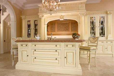 ex display clive christian regency painted kitchen island