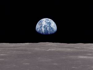 """Photo """"earth rise"""" in the album """"Space Wallpapers"""" by ..."""