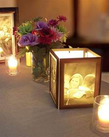 wedding candle centerpieces how to make photo centerpieces with candles