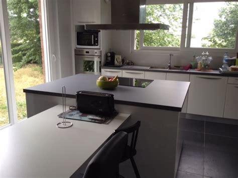 cuisine sol gris clair quelle couleur de mur pour cuisine blanche avec sol gris