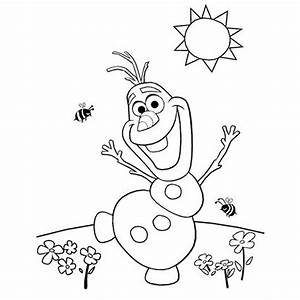 Free Printable Colouring Pages Disney Frozen Olaf Coloring