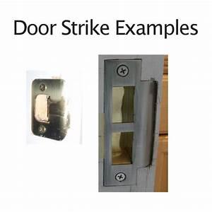 Trine 3334w Electric Door Strike For Wood Frames