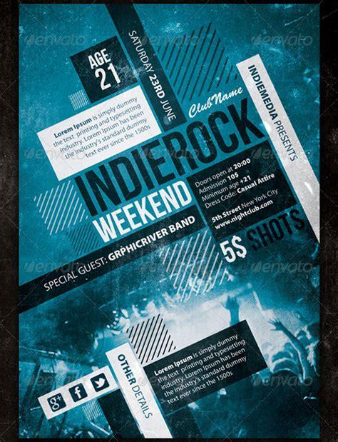 concert poster templates designs  premium