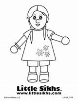 Coloring Sikh Colouring Sheets Sikhs Little Pages Around Sikhism Books Kid Motivating Gurbaani Fun Tv Worlds Downloads sketch template