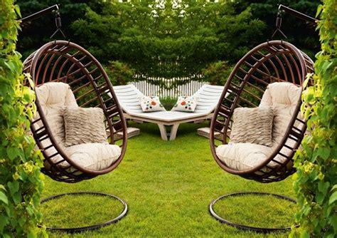 35 Hängesessel Mit Gestell  Praktisch Für Innen Und Außen